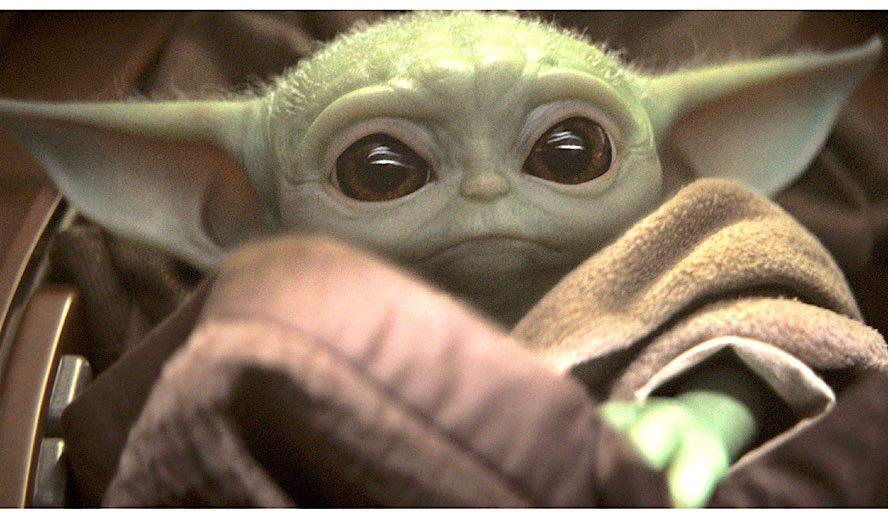 Hollywood Insider's Feature Baby Yoda, Star Wars The Mandalorian, Jon Favreau, Pedro Pascal