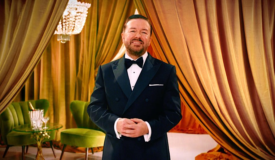Hollywood Insider's In Conversation With Ricky Gervais on Golden Globes 2020 Awards
