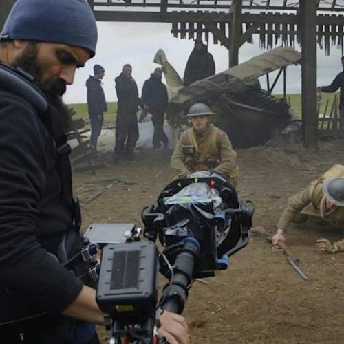 "Video: Come Behind The Scenes of Oscar Worthy & Golden Globes Nominated ""1917"" With Director Sam Mendes, George MacKay, Dean-Charles Chapman & Team"