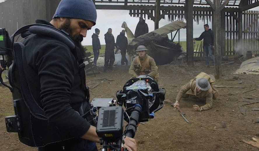 Hollywood Insider Behind The Scenes of 1917, Golden Globes, Oscars, Sam Mendes, George MacKay, Dean-Charles Chapman