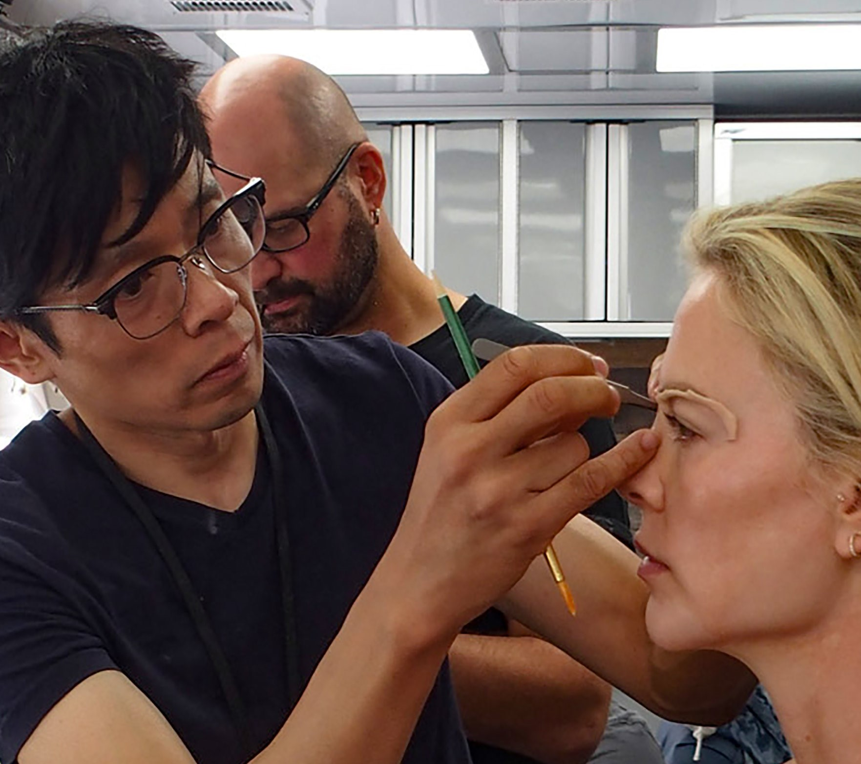 Hollywood Insider Behind The Scenes of Bombshell Makeup & Hair Kazu Hiro, Charlize Theron, Oscars, Golden Globes, Lionsgate