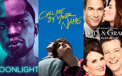 The (Hopeful) Future of Telling LGBTQ+ Stories Progressing From 'Call Me By Your Name', 'Moonlight', 'Will & Grace', Etc.