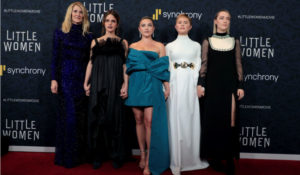 Hollywood Insider's Rendezvous At The Premiere & Reactions on Little Women With Timothee Chalamet Saoirse Ronan Emma Watson Laura Dern Meryl Streep Louis Garrel