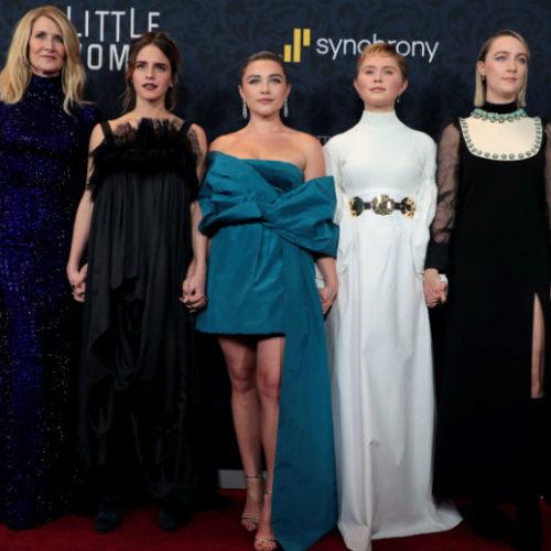 Video: Rendezvous At The Premiere Of 'Little Women' With Reactions From Timothée Chalamet, Emma Watson, Louis Garrel, Saoirse Ronan, Greta Gerwig, Laura Dern, Etc.