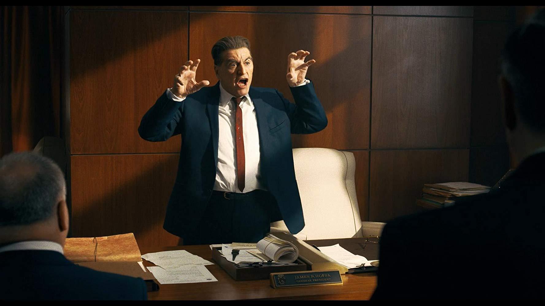 Hollywood Insider's Review Al Pacino, Martin Scorsese, Robert De Niro, Joe Pesci, The Irishman, Netflix