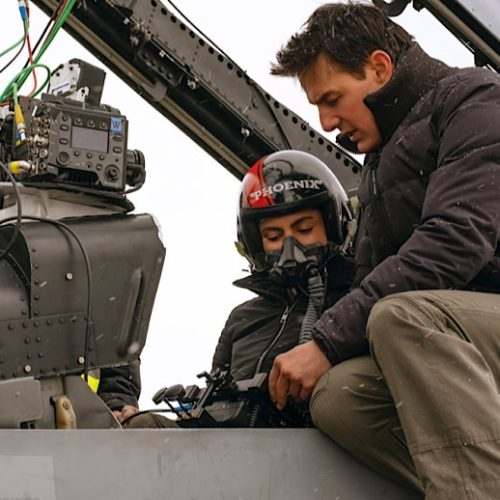 Video: Come Behind The Scenes of 'Top Gun: Maverick' with Reactions from Tom Cruise, Miles Teller, Jon Hamm, Jennifer Connelly, Director Joseph Konsinski