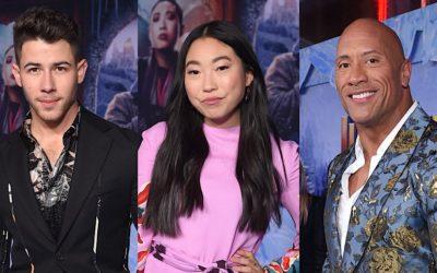 Video: 'Jumanji: The Next Level' – Flashback Reactions From Stars on the Adventure with Dwayne Johnson, Nick Jonas, Awkwafina & Team