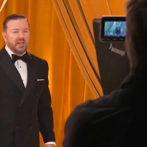 Video: Come Behind The Scenes of Golden Globes 2020 With Ricky Gervais