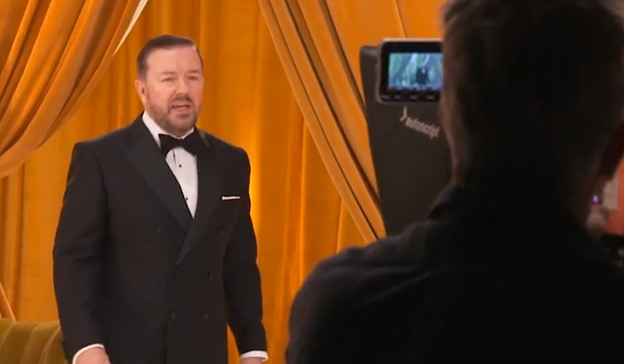 Hollywood Insider Behind The Scenes Ricky Gervais, Golden Globes 2020, NBC