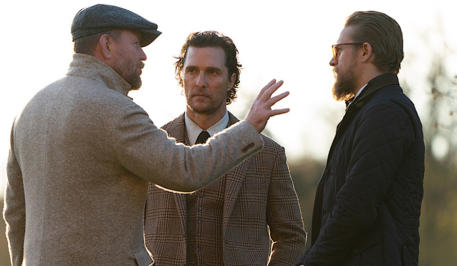 Video: Come Behind The Scenes of 'The Gentlemen' with Matthew McConaughey, Charlie Hunnam, Henry Golding, Hugh Grant, Guy Ritchie & Team
