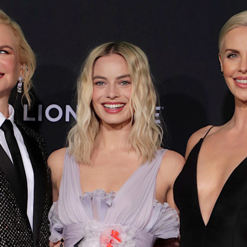 Video: 'Bombshell' Golden Globes Nominated & Oscar-Worthy - Rendezvous At The Premiere With Reactions From Charlize Theron, Nicole Kidman, Margot Robbie & Team