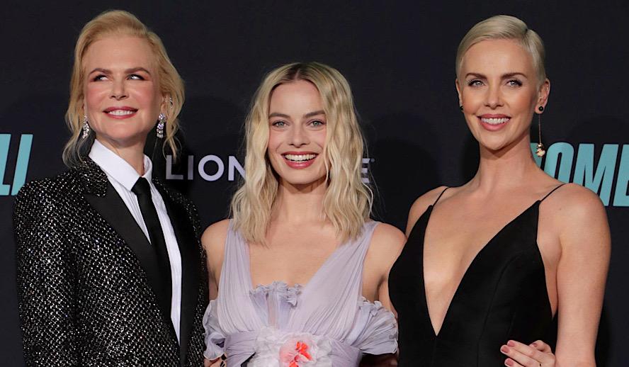 Hollywood Insider Bombshell Premiere Los Angeles, Charlize Theron, Nicole Kidman, Margot Robbie, Jay Roach, Charles Randolph