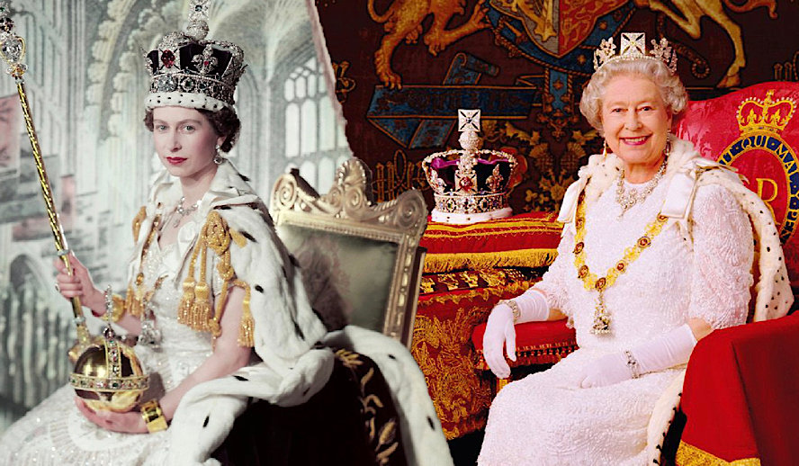 Hollywood Insider CEO and Editor-in-Chief Pritan Ambroase Pays Tribute to Her Majesty Queen Elizabeth II Coronation and Crown, Full Regalia