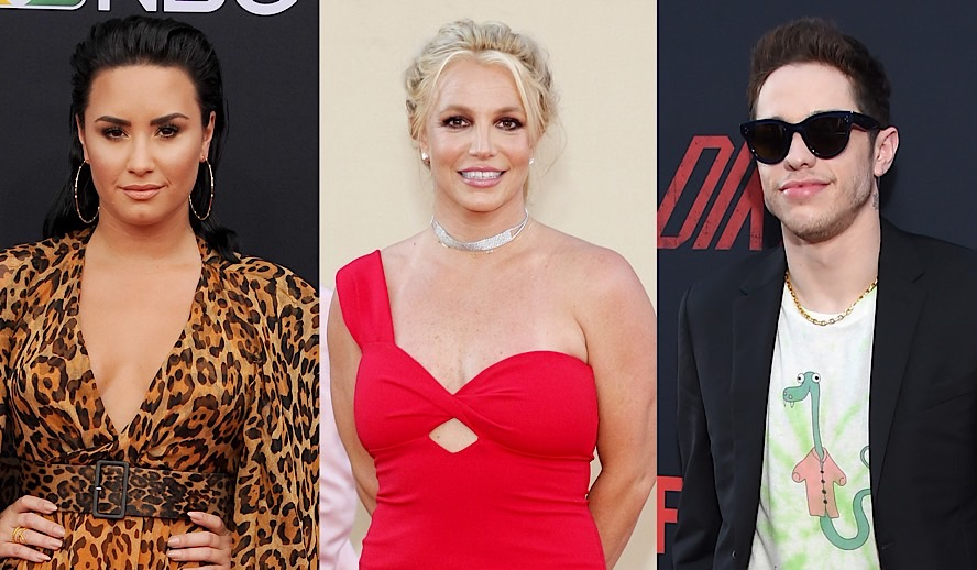 Hollywood Insider Feature Mental Health, Britney Spears, Pete Davidson, Demi Lovato