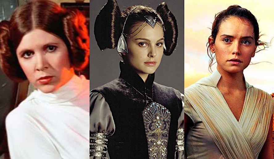 Hollywood Insider Feature Star Wars Female Roles, Carrie Fisher, Natalie Portman, Daisy Ridley