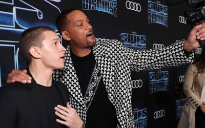 Video: 'Spies in Disguise' – Reactions From Stars Like Will Smith, Tom Holland, Rashida Jones, and Team on the Animation