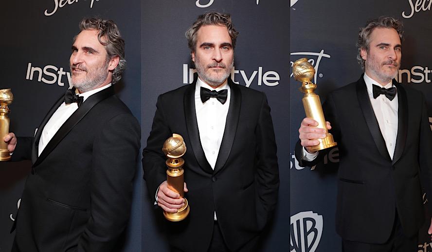 Hollywood Insider Golden Globes, Oscars, Bafta, Joaquin Phoenix, Joker, Best Actor, Ricky Gervais