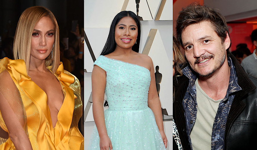 Hollywood Insider Latin Representation in Hollywood, Jennifer Lopez, Yalitza Aparicio, Pedro Pascal, Oscars, Academy Awards