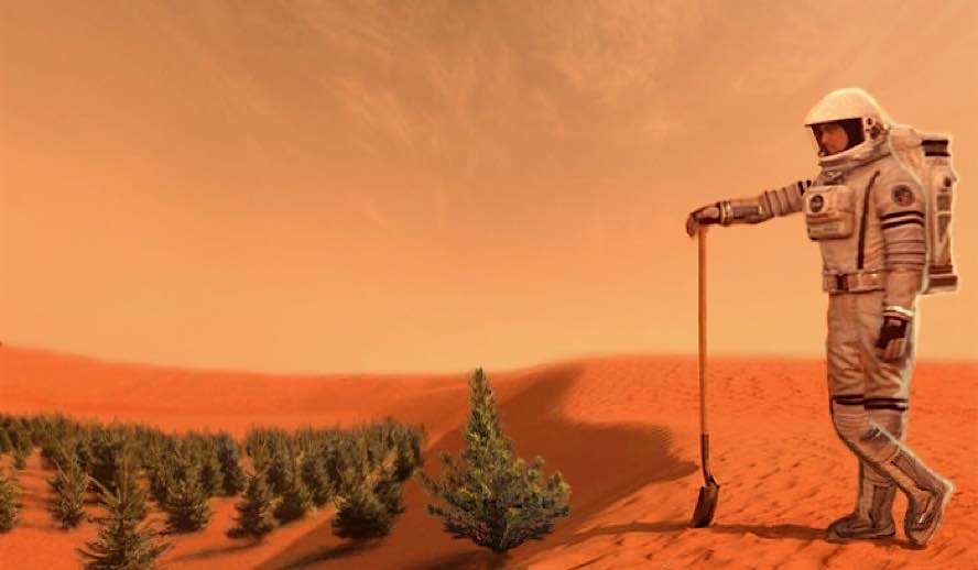 Hollywood Insider Messages From America, Colonizing Mars