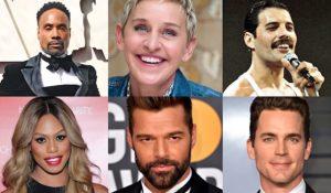 Hollywood Insider Messages From America, LGBTQ, Laverne Cox, Ellen Degeneres, Freddie Mercury, Laverne Cox, Ricky Martin, Matt Bomer