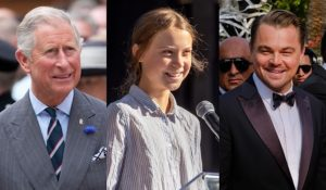 Hollywood Insider Messages From America, Re-naming Climate Change, Climate Crisis, Prince Charles, Greta Thunberg, Leonardo DiCaprio Photos