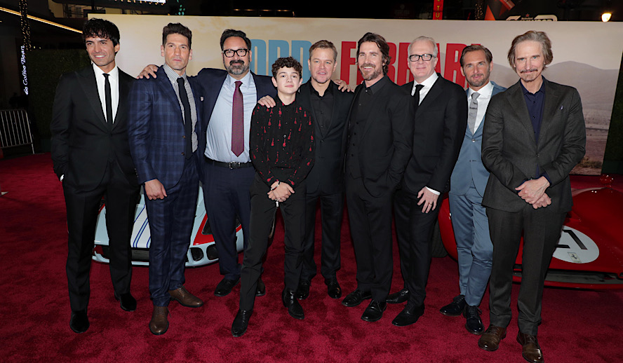 Hollywood Insider Reactions From Stars At Premiere of Ford V Ferrari, Oscars, Golden Globes, Christian Bale, Matt Damon