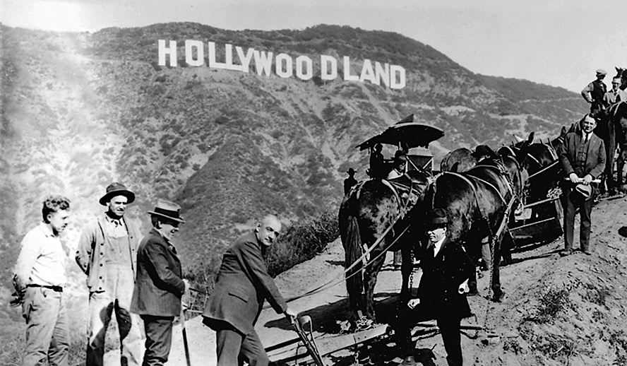 Hollywood Insider Feature Hollywoodland Sign Filming Tax Incentives in All States Photo