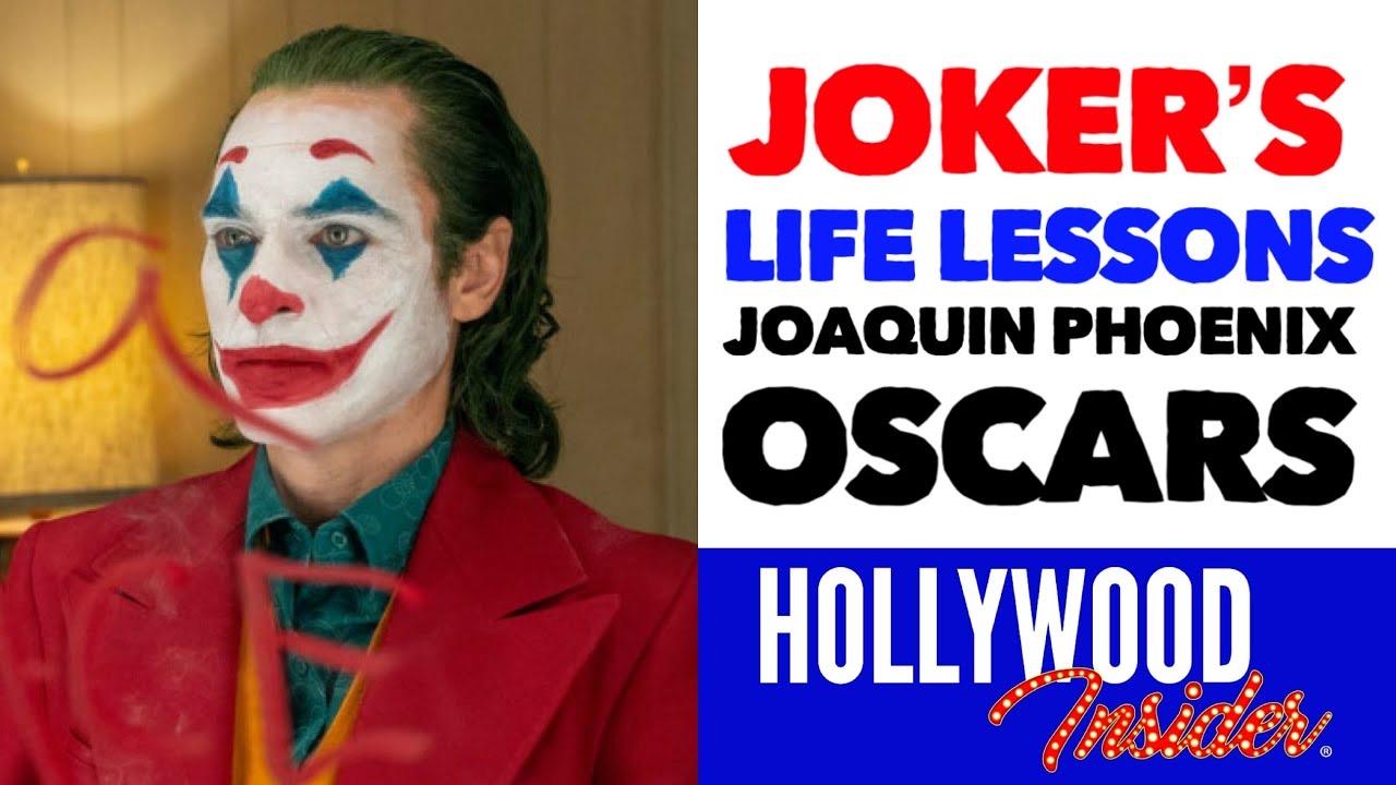 Hollywood Insider Joker Life Lessons Mental Health Stigma Oscars Winner Joaquin Phoenix Video