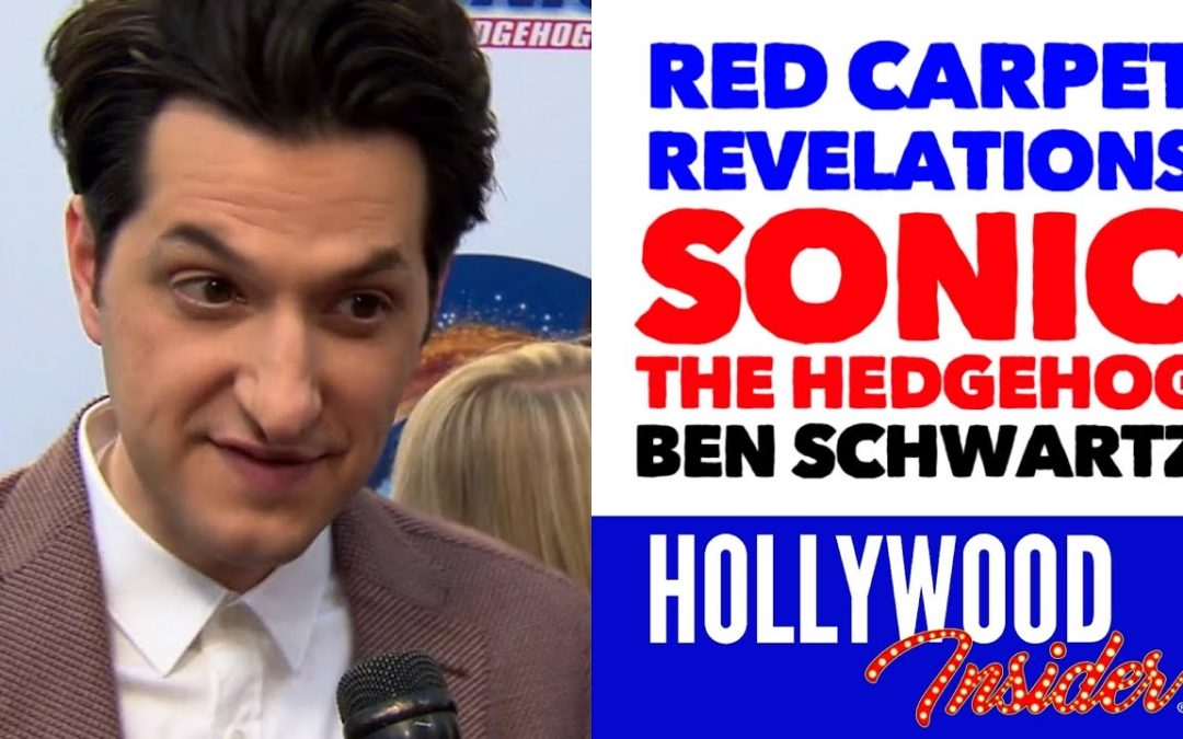 Video: 'Sonic The Hedgehog' Red Carpet Revelations with Ben Schwartz – Voice of Sonic