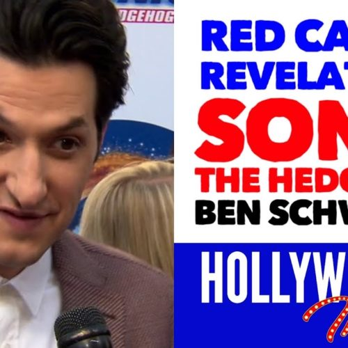 Video: 'Sonic The Hedgehog' Red Carpet Revelations with Ben Schwartz - Voice of Sonic