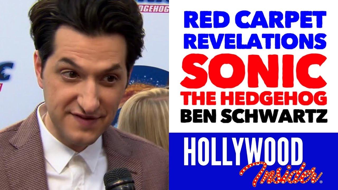 Hollywood Insider Red Carpet Sonic The Hedgehog Premiere Ben Schwartz