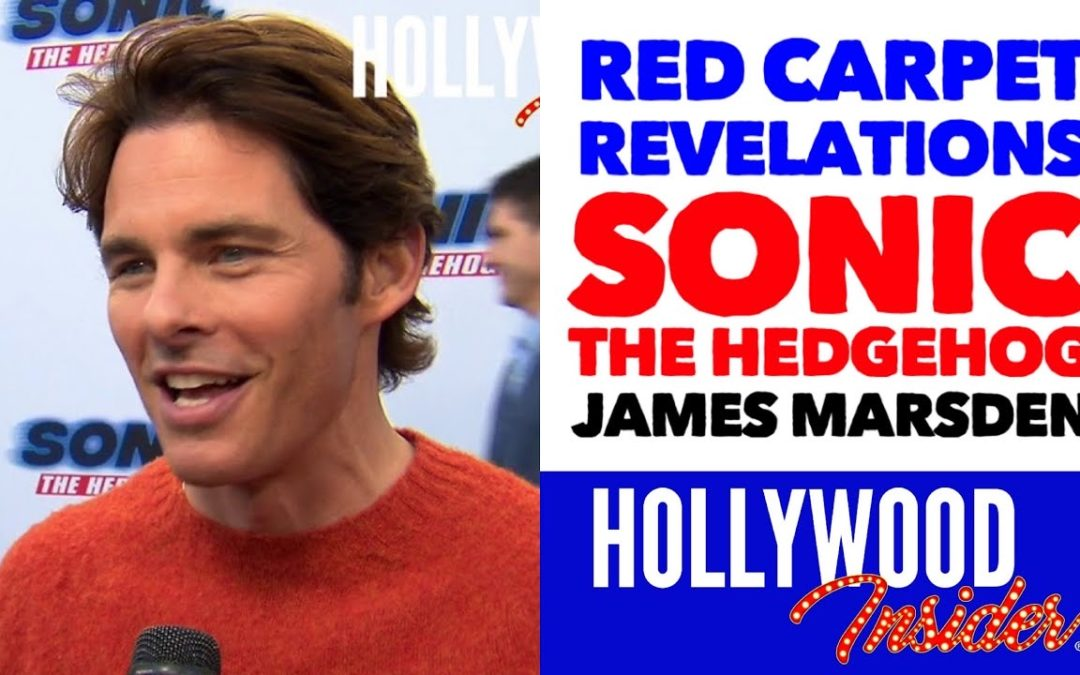 Video: 'Sonic The Hedgehog' Red Carpet Revelations with James Marsden – Tom Wachowski