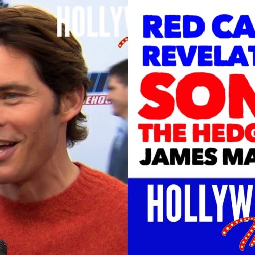 Video: 'Sonic The Hedgehog' Red Carpet Revelations with James Marsden - Tom Wachowski