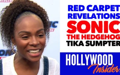 Video: 'Sonic The Hedgehog' Red Carpet Revelations with Tika Sumpter – Maddie Wachowski
