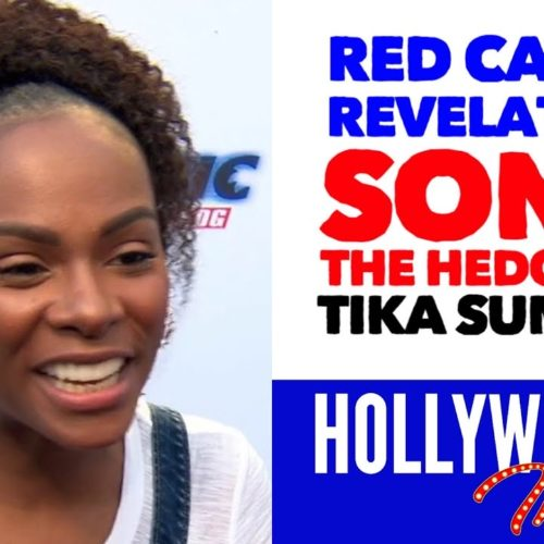 Video: 'Sonic The Hedgehog' Red Carpet Revelations with Tika Sumpter - Maddie Wachowski