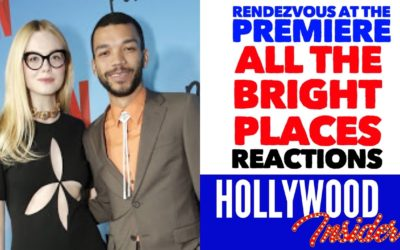 Video: 'All The Bright Places' Rendezvous At The Premiere with Elle Fanning & Justice Smith