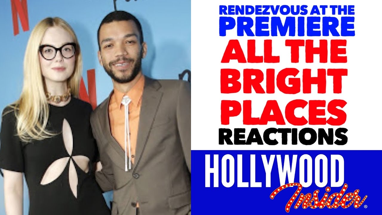 Hollywood Insider Premiere All The Bright Places Elle Fanning, Justice Smith
