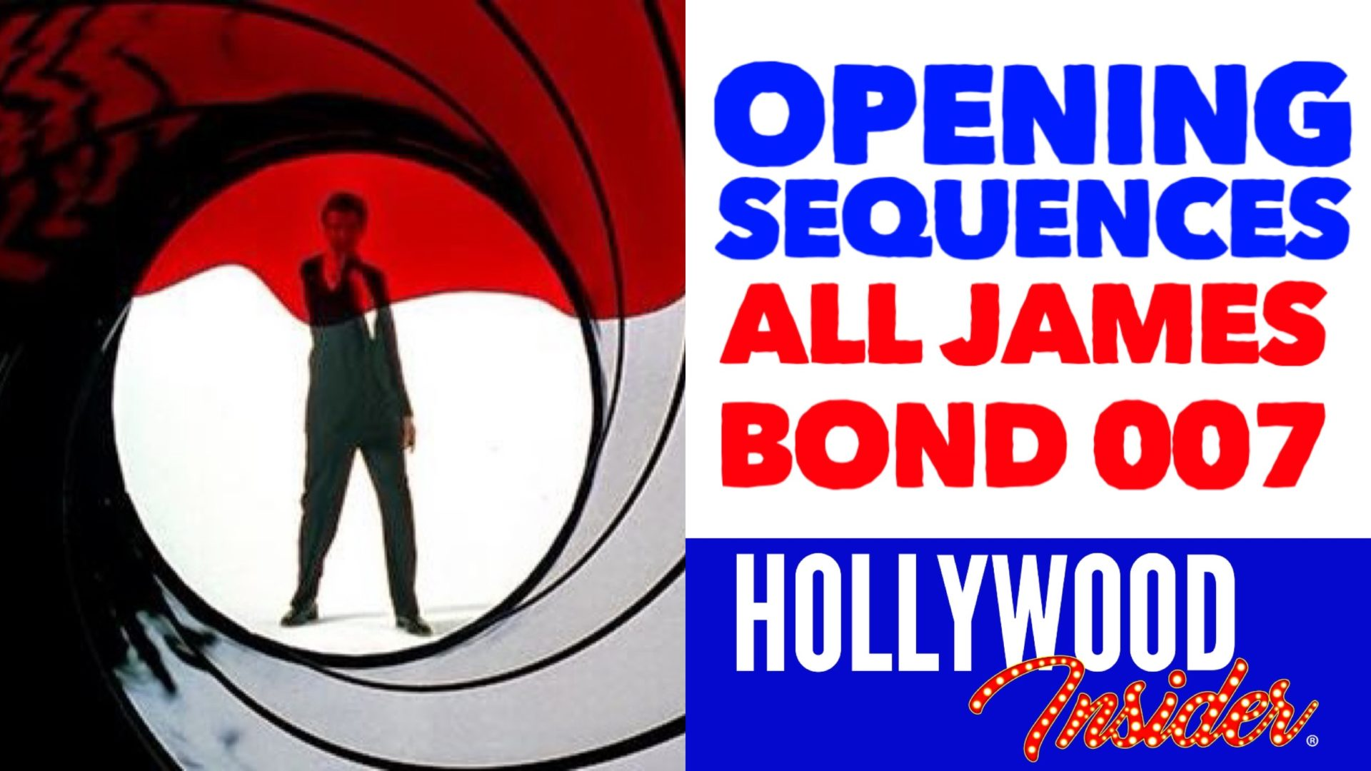 Hollywood Insider Video James Bond Opening Sequences