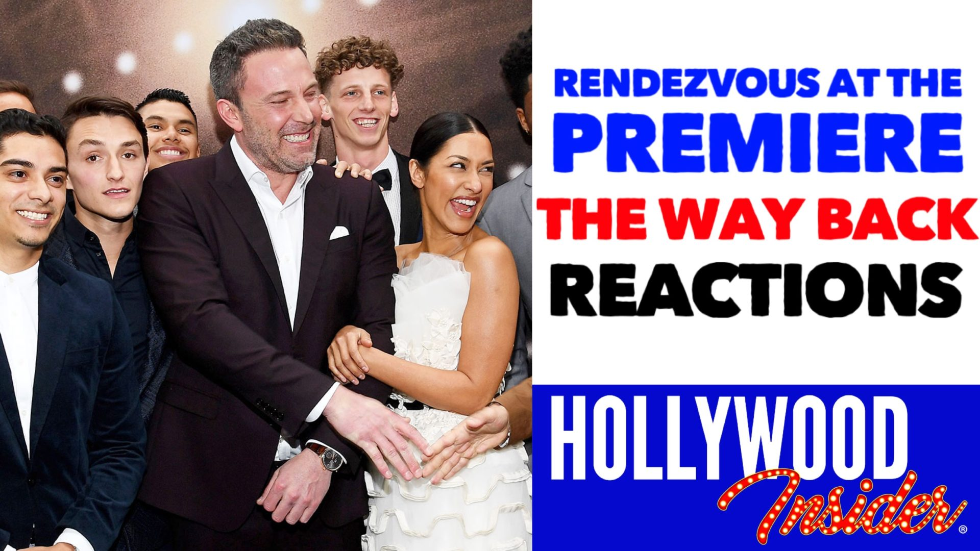 Hollywood Insider Videos The Way Back Premiere Reactions, Ben Affleck