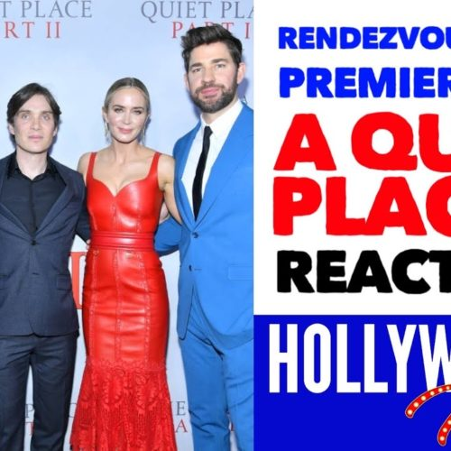 Video: Full Rendezvous At The Premiere of 'A Quiet Place Part II' Reactions From John Krasinski, Emily Blunt
