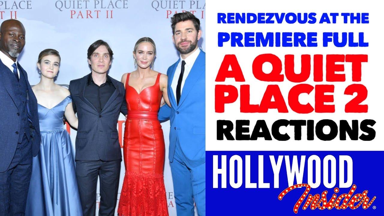 Hollywood Insider A Quiet Place Part 2 Premiere Reactions, Emily Blunt, John Krasinski, Millicent Simmonds