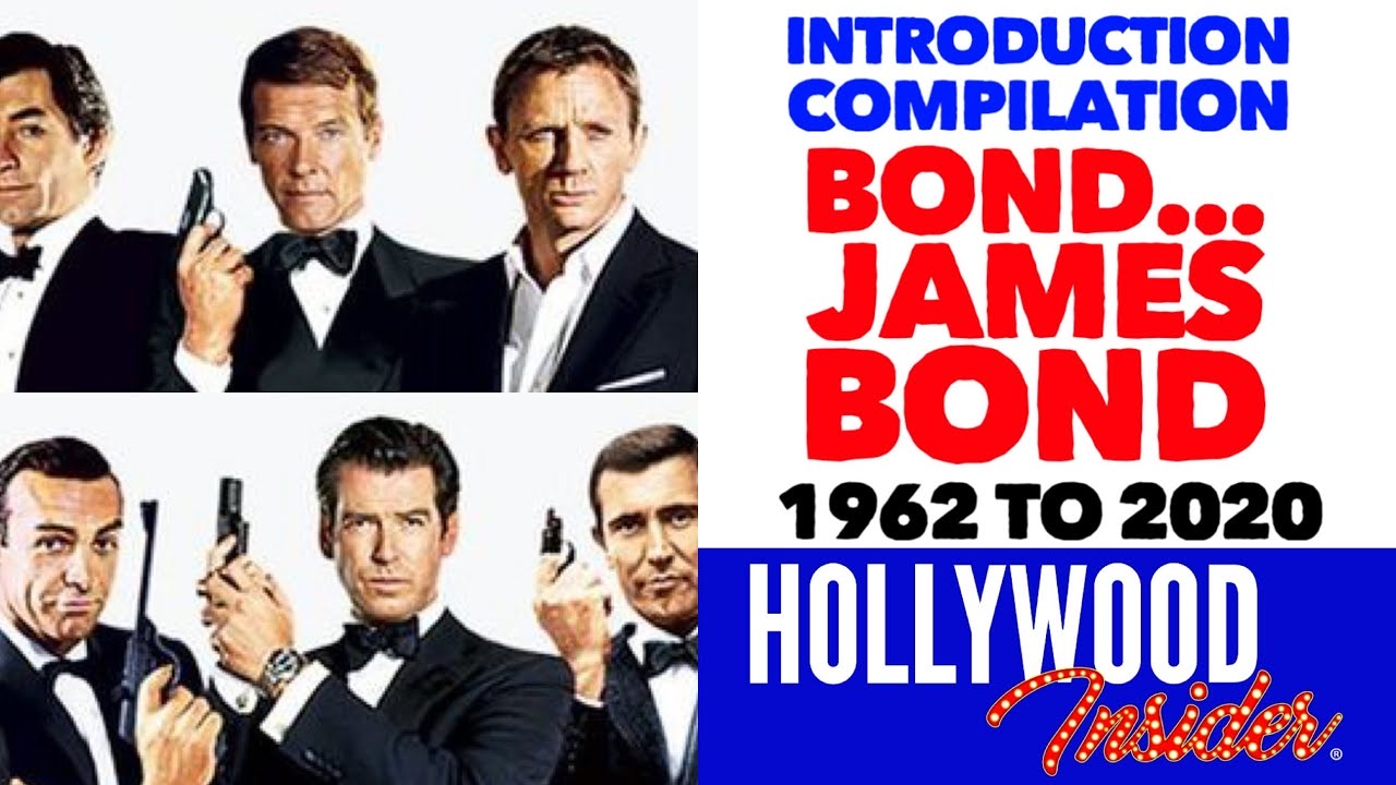 Hollywood Insider Bond James Bond Introduction Scenes, Daniel Craig, Sean Connery