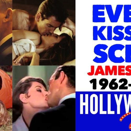 Video: Every James Bond Kiss From 1962 to 2020 | All Bond Girls List | Sean Connery to Daniel Craig