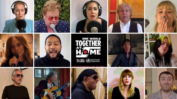 Hollywood Insider One World Concert Together At Home, Lady Gaga