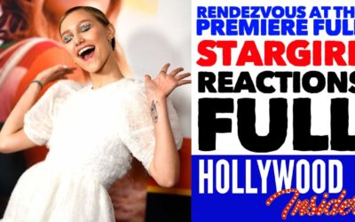 Rendezvous At The Premiere of STARGIRL Disney+ Reactions Grace VanderWaal, Jerry Spinelli