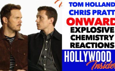 Video: The CHEMISTRY of Tom Holland & Chris Pratt is Explosive in 'Onward' | Disney/Pixar