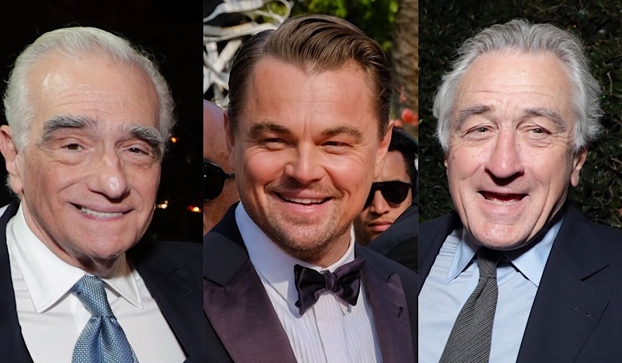 Hollywood Insider Leonardo DiCaprio, Martin Scorsese, Robert De Niro, Killers of the Flower Moon, Paramount, Netflix, Apple TV, Streaming
