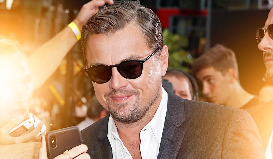 Hollywood Insider Leonardo DiCaprio, Once Upon A Time in Hollywood Premiere