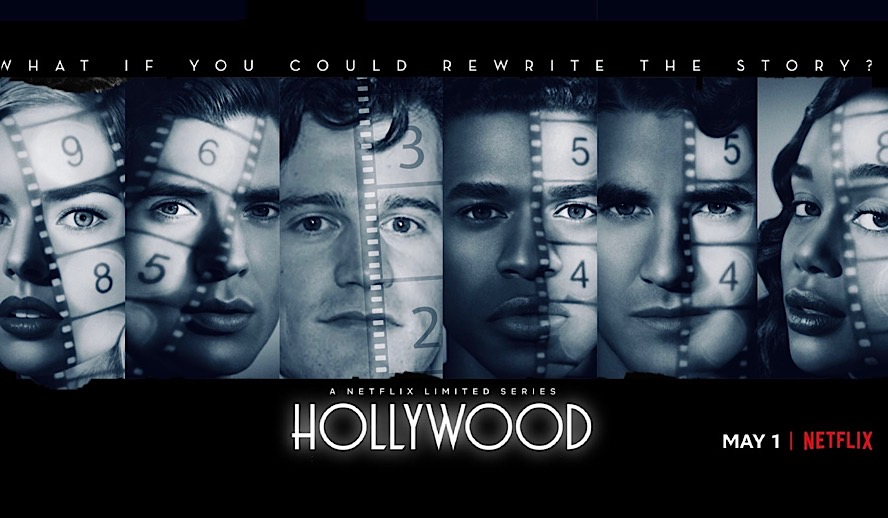 Hollywood Insider Netflix Series Hollywood, Ryan Murphy, Rock Hudson, LGBTQ, Gay, Darren Criss