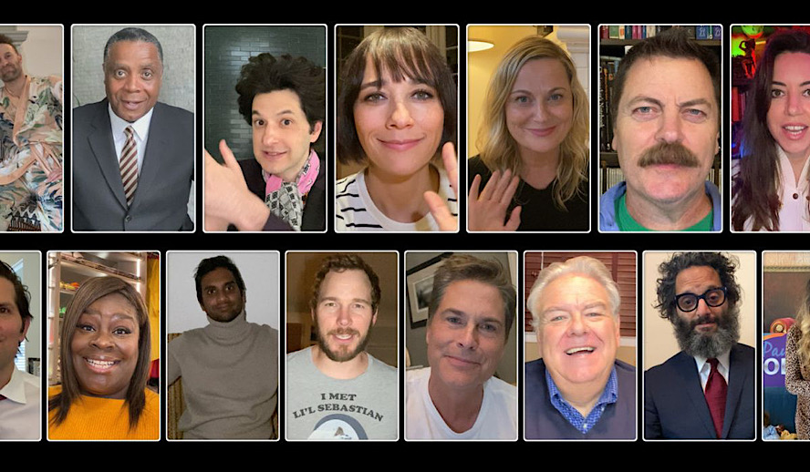 Hollywood Insider Parks and Recreation Reunion